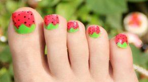 feet polish